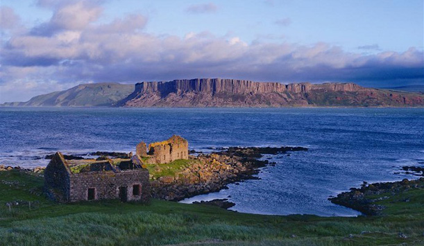 Robert the Bruce's one-time refuge: Rathlin Island