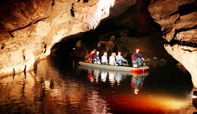 Marble Arch Caves Global Geopark, Contea del Fermanagh, Irlanda del Nord