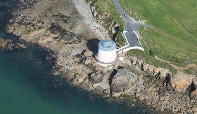 3. Martello Tower in county Dublin