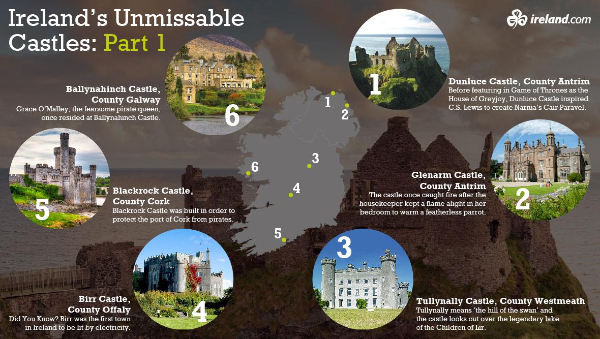 irelands unmissable castles part 1