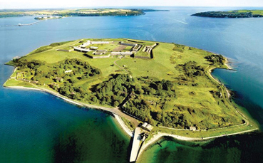 Spike Island No 1 in Europe
