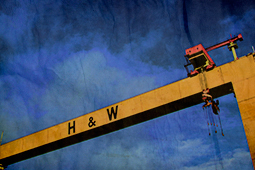 Samson and Goliath, the Harland & Wolff cranes