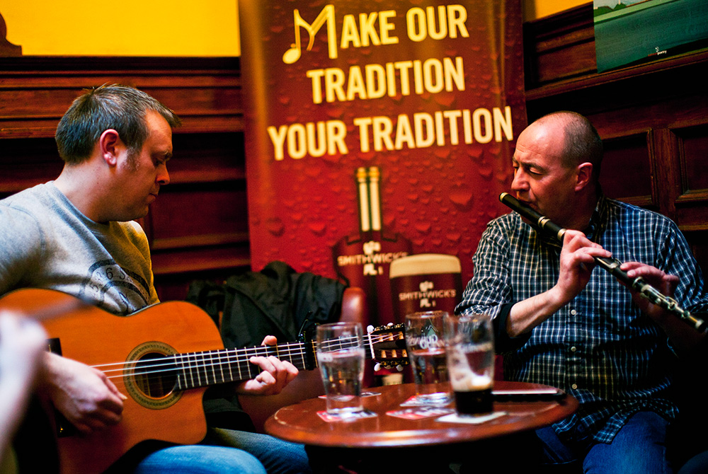 Music in Irish DNA