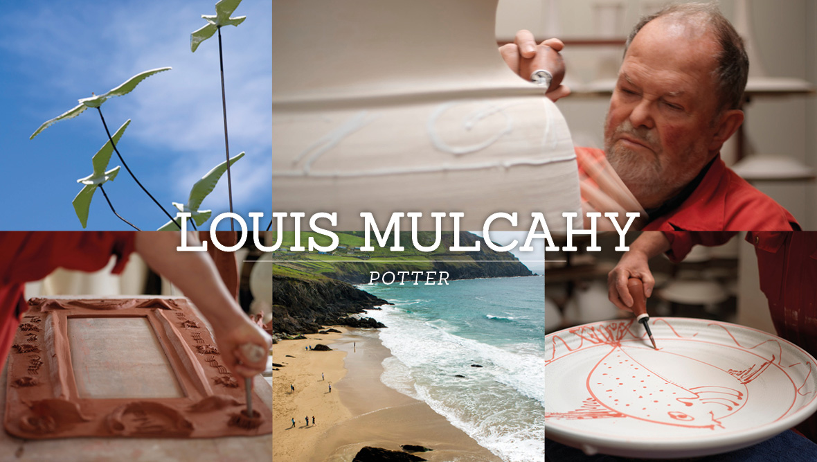 Louis Mulcahy, Potter