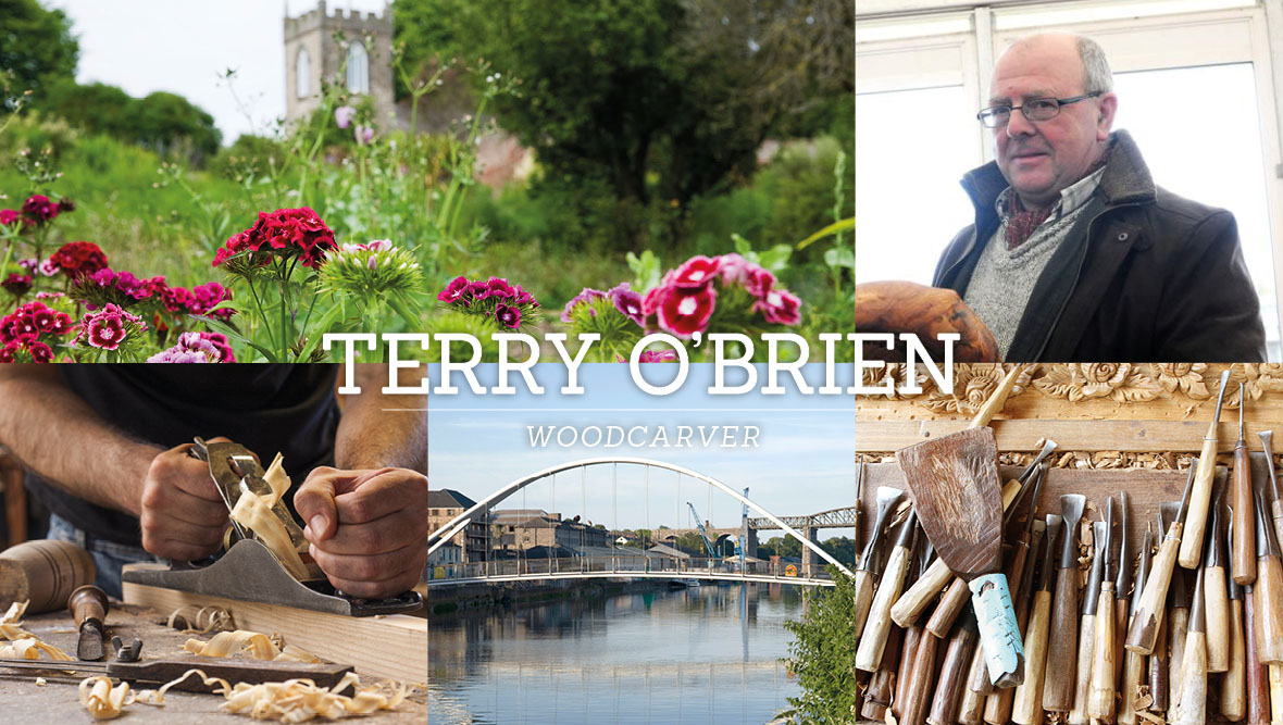 Terry O'Brien, Woodcarver