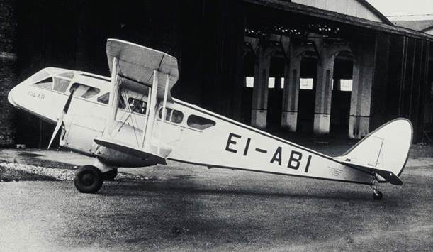 History-making aircraft Iolar