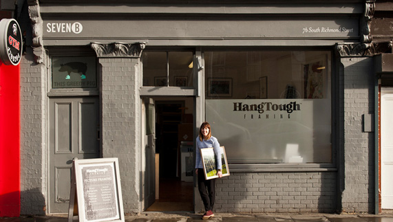 Hang Tough Framing, South Richmond Street, Dublin