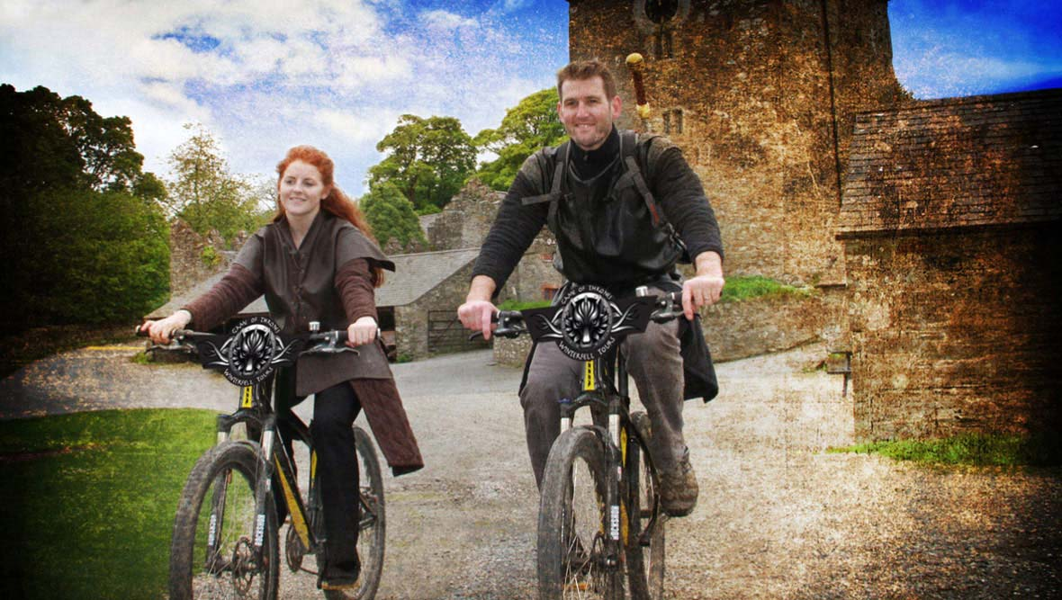 Excursion à vélo avec Winterfell Tours