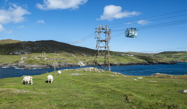 Dursey Island cable car