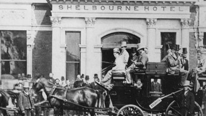 The Shelbourne Hotel Dublin. Image Courtesy of the Shelbourne Hotel
