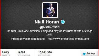Niall's hometown pride – it's #official!