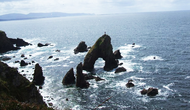 Arch Stack, Maghery, County Donegal