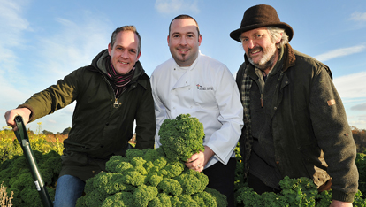 The Green Room in Belfast use local seasonal produce