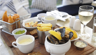 The Boatyard Restaurant in Dingle, County Kerry