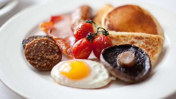 An Ulster Fry at Newforge House