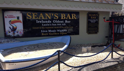4. Records breken: Sean's Bar, county Westmeath