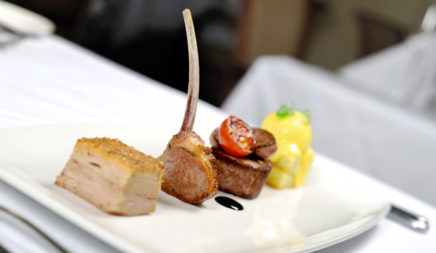 Lough Erne Resort's tasty take on a mixed grill