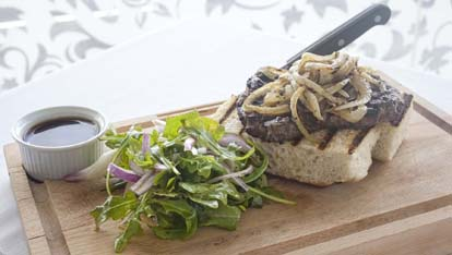 A Glenarm Steak Sandwich