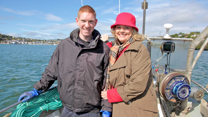 Desmond Hurley, a third generation fisherman in Kinsale