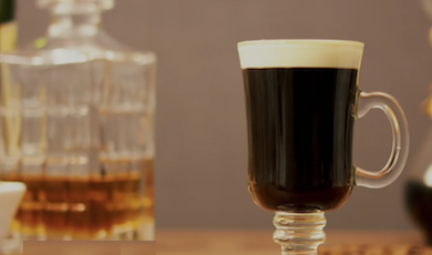 WATCH: How to make an Irish coffee