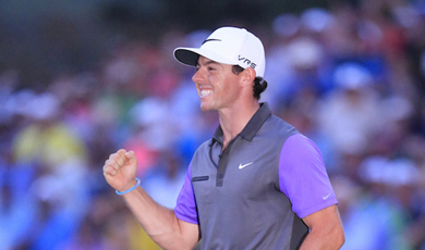 Rory McIlroy: Golf's golden boy
