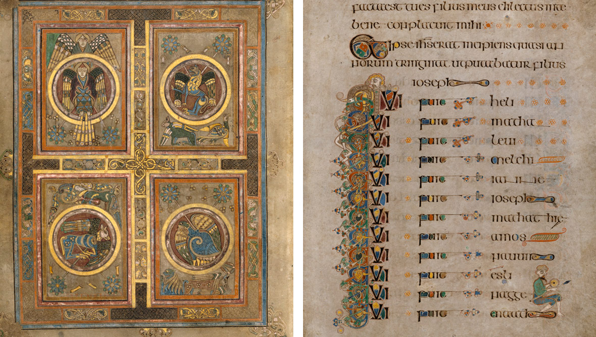Das Book of Kells, Trinity College Dublin