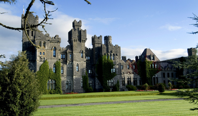 Charming castles and afternoon teas