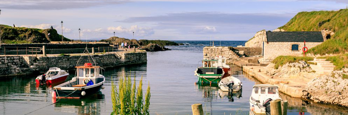Ballintoy Harbour, Grafschaft Antrim