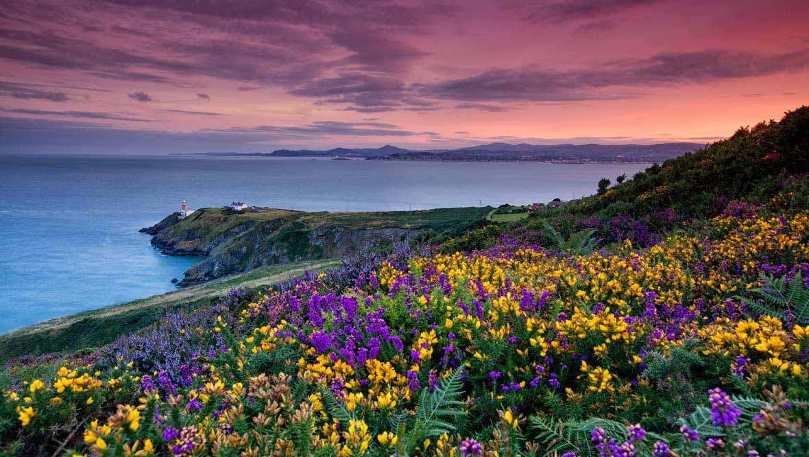 Howth Head in county Dublin