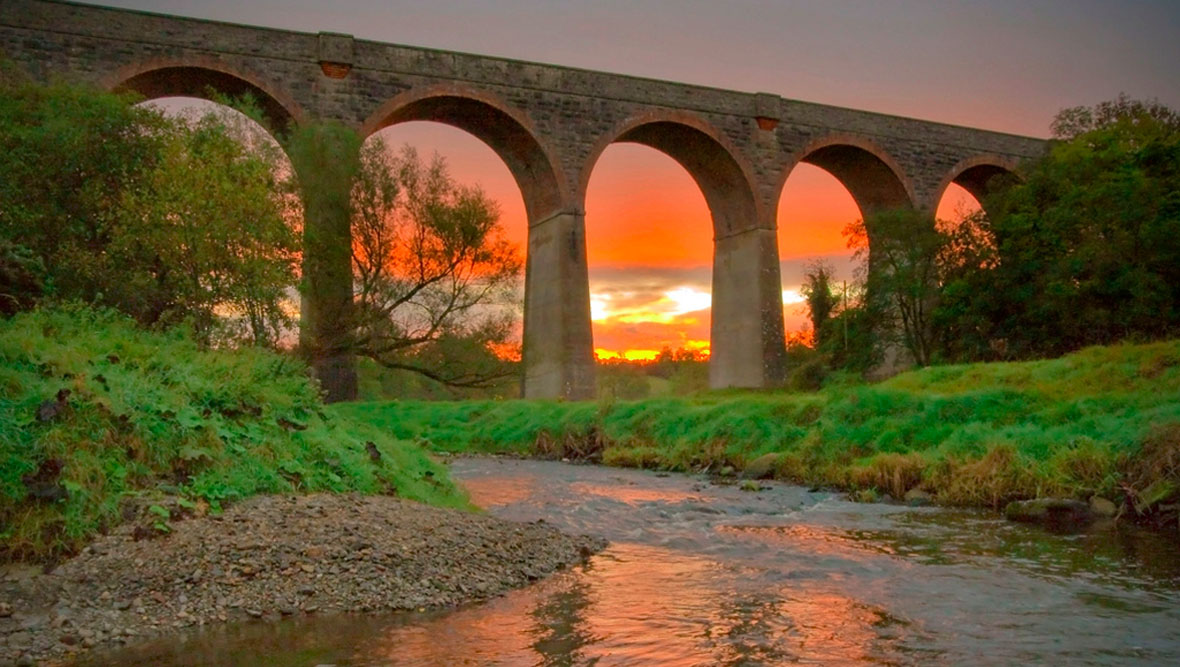 Tassagh Viaduct. Credit: Alan Hopps