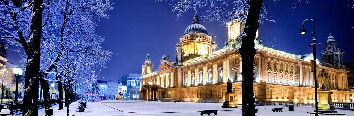 Belfast City Hall in county Antrim