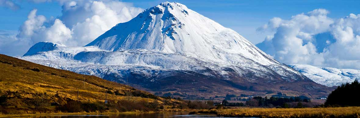 Mount Errigal in county Donegal