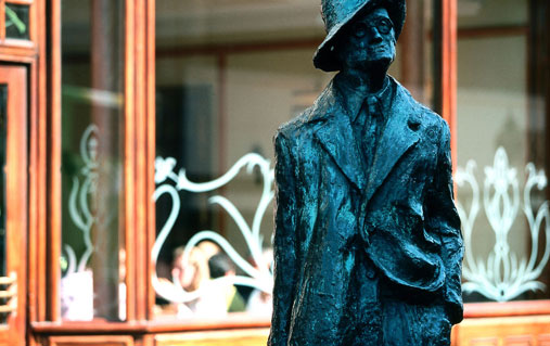 Statue de James Joyce