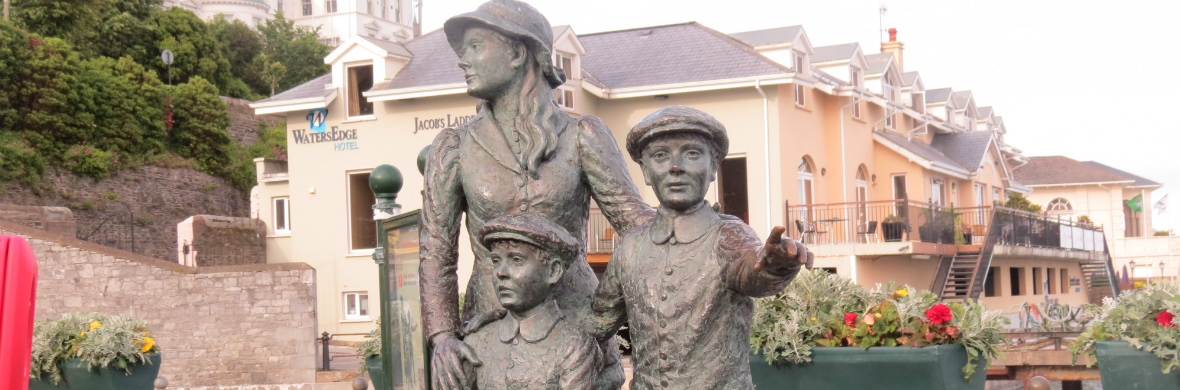 Annie Moore Monument, Cobh, County Cork