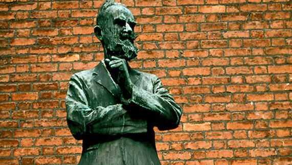George Bernard Shaw Statue in Dublin City Centre