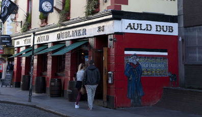 The Auld Dubliner, Temple Bar