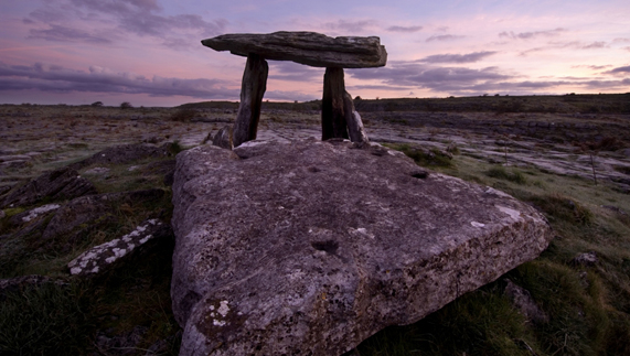 Dolmens in the Burren, County Clare