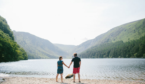 Feeling the love at Glendalough, County Wicklow
