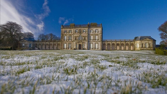 Florence Court under frost