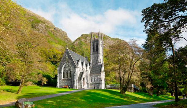 Memorial church for Margaret Vaughan, Kylemore Abbey, County Galway