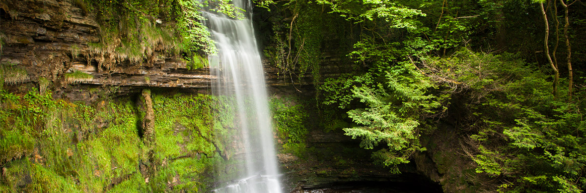Glencar Waterfall, county Leitrim