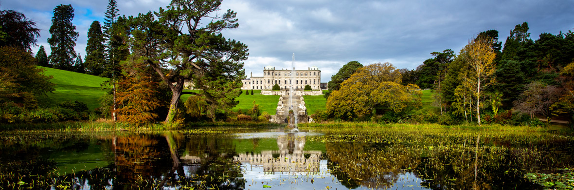 Powerscourt House and Gardens, comté de Wicklow
