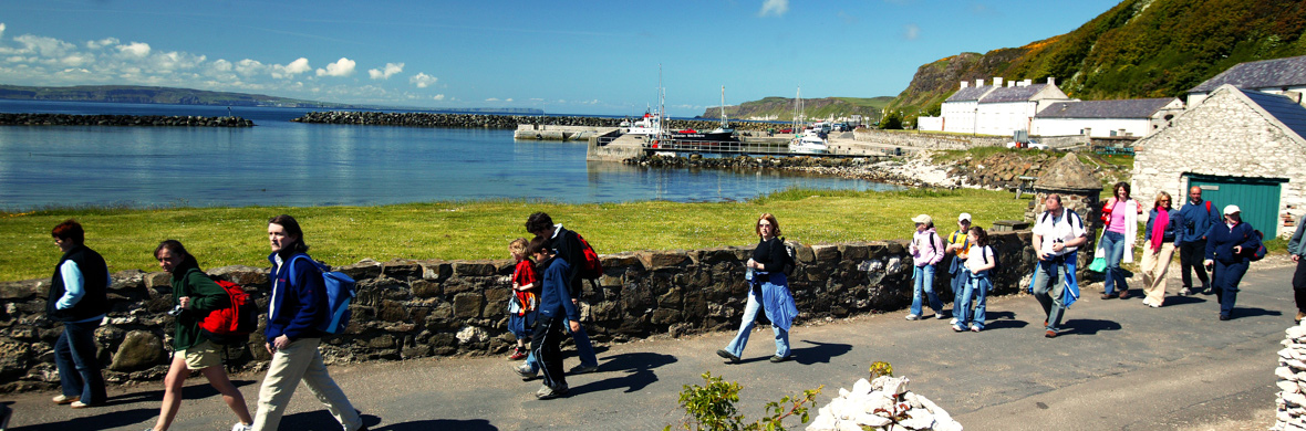 Rathlin Island Harbour, Grafschaft Antrim