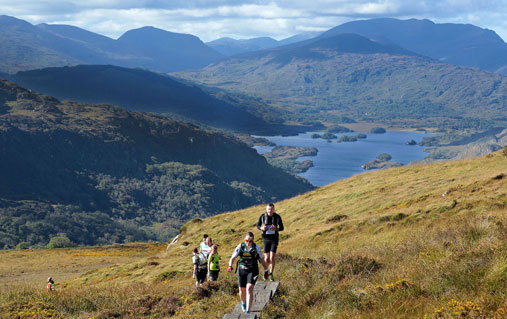 Killarney adventure race in Kerry
