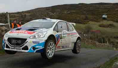 Circuit of Ireland Rally, Belfast, Co. Antrim, 7.-8. April