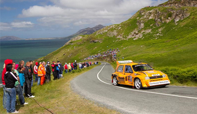 Rally Internacional Joule Donegal, Condado de Donegal
