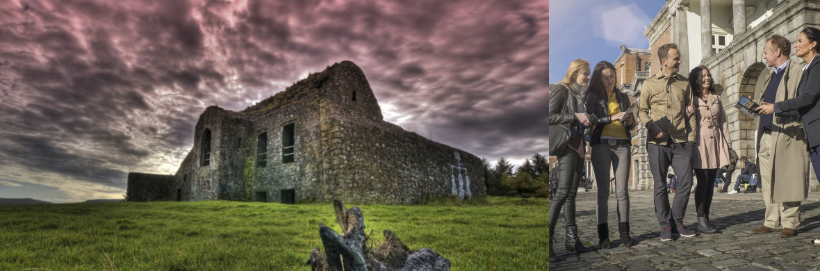 Hellfire Club, County Dublin; Dublin Castle, Dublin city