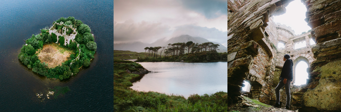 Castle Island and Derryclare Lough