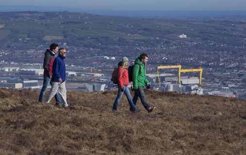 On the Divis Trail