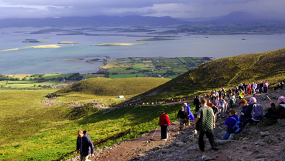Croagh Patrick in Westport, County Mayo
